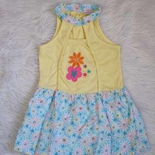 Yellow dress 6-12mo