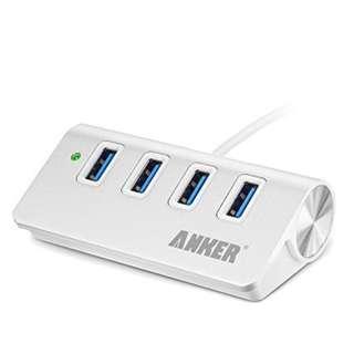(BNIB) ANKER USB 3.0 4-Port Compact Aluminum Hub (Brand New Boxed)
