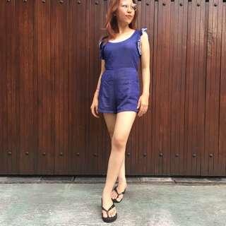 Jumpsuit Electric Blue Bangkok Premium