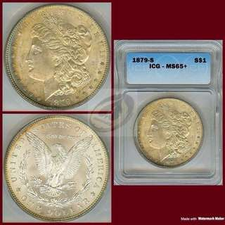 1879-S United States Morgan Dollar - ICG MS65