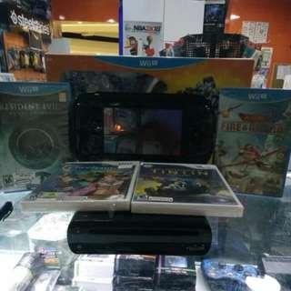 Wii U 32GB BLACK (PREOWNED)