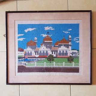 Picture Frame hand make embroidery