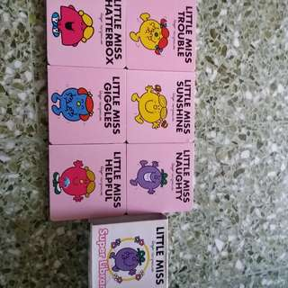Little miss & mr men