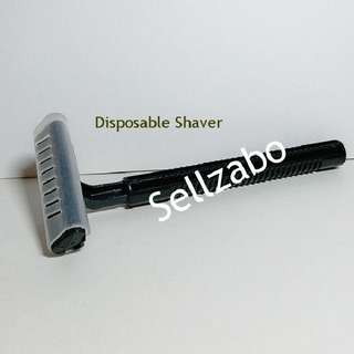 Disposable Black Shaver Travel Sellzabo Skincare Mens Grooming Set