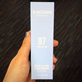 [BNIB] - W.DRESSROOM New York Perfumes / Fragrances <#97 April Cotton, 70ML>