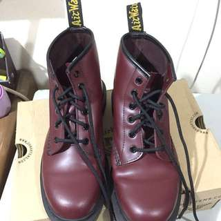 Dr. Martens 101 Cherry Red Rouge