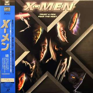 X-Men (2000) [PILF-2863] extremely rare Japanese LaserDisc in Mint shape