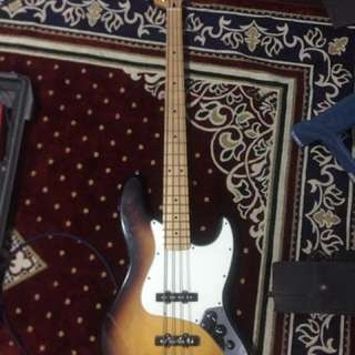 Fender standard jazz bass MIM 2009 Sunburst