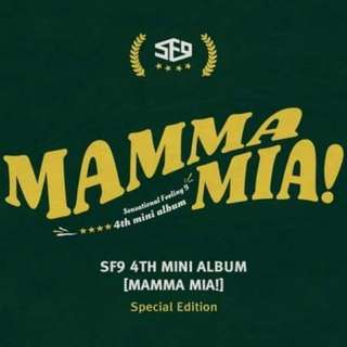 SF9 4th Mini Album - Mama Mia Special Edition