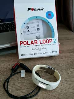 Polar loop 2 white preloved