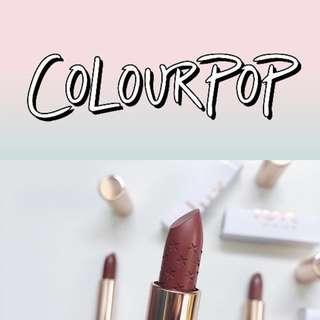 CLOSED Colourpop Preorder 💫 RATE = 1.40 NETT / LUX LIPSTICK RESTOCK 08/03