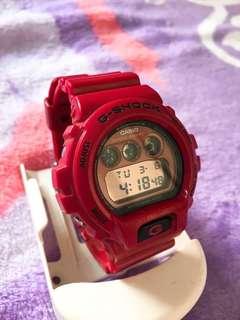 Casio G-SHOCK (red)