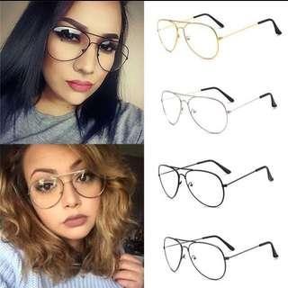 Aviator Glasses / Kacamata Aviator Vintage Retro Tumblr Kekinian