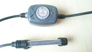二手好物 魚缸 水族箱 加熱棒 加溫器 溫度調節器 可自由調整溫度 水族用品 fish ball heater可超商取貨