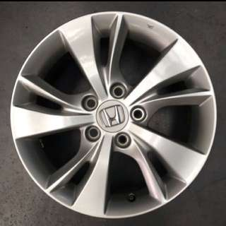 "From New Car 16"" Original Honda Rims"
