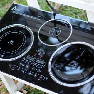 Terzett 3-Stove Induction Cooker