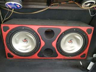 woofer KENWOOD 10""