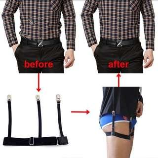 Shirt Suspender Shirt Stays Holder Garter Polo Clip on