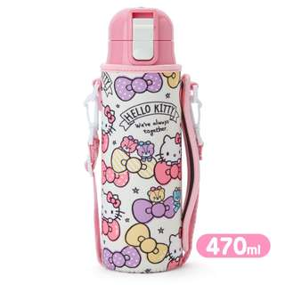 Japan Sanrio Hello Kitty Stainless Steel Bottle with Cover