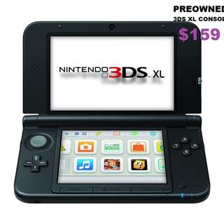 Used 3DSXL COME WITHE ONE GAME