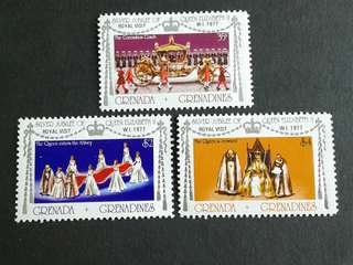 1977 British colonies Grenada unused set#1a