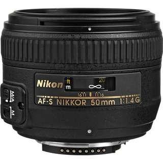 Nikon AF-S NIKKOR 50mm f/1.4G Len