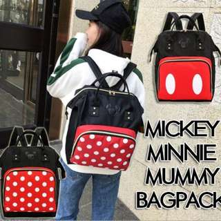 Mickey Minnie Mummy Bag