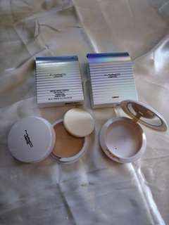 MAC make up :  lightful compact , marine bright formula SPF25 foundation 14g NC30