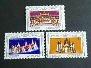 1977 British colonies Grenada unused set#1b