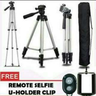 TRIPOD STAND FOR CAMERA & PHONE