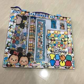 Tsum Tsum - 8 in 1 Stationary Set