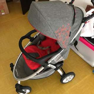 Stroller Coco Latte red