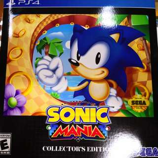 PS4 Sonic Mania Collector's Edition (R1)