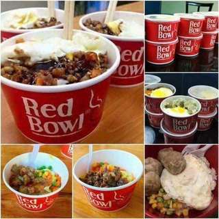 Red bowl Foodcart (16k downpayment)
