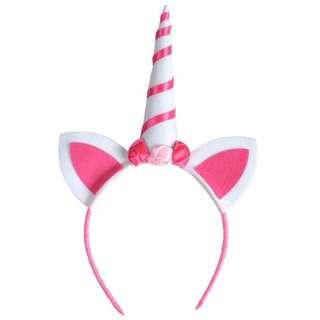 🐰Instock - pink unicorn headband, baby infant toddler girl children glad cute 123456789 lalalala