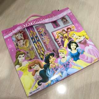 Princess - 8 in 1 Stationary Set