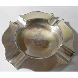 Sterling Silver Singapura Singapore Ashtray