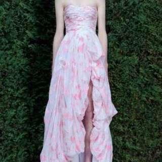 HIRE - AJE pink sundew dress