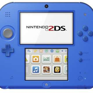 USED 2DS COME WITH ONE GAME