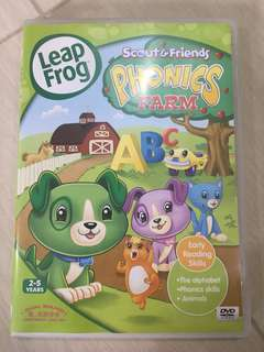 Leap Frog Scout & Friends Phonics Farm DVD