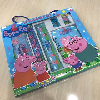Peppa Pig - 8 in 1 Stationary Set