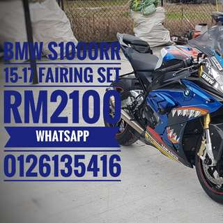 BMW s1000rr blue shark fairing thanks support Rm2100 fairing set welcome Wasap 0126135416 Readystock New set  Serious buyer only
