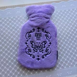 Anna Sui water bottle warmer NEW 暖水袋