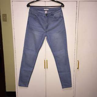 F21 mid rise skinny jeans