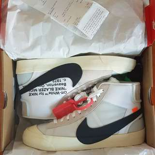 Offwhite x Nike blazer