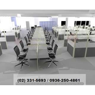 Various Workstation - Design and Sizes - Office Partition