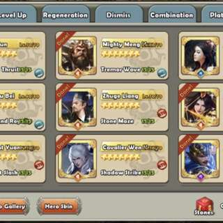 Dynasty War (All 777 heroes obtained)