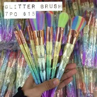 Glitter brush 7pc