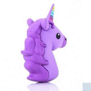 Purple Unicorn Power Bank 8800mAh