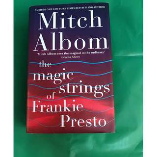 Mitch Albom (The Magic Strings of Frankie Presto) on Hardback